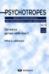 Apport de la psychanalyse à la question de l'Addiction