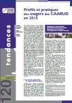 Profils et pratiques des usagers des CAARUD en 2015