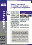 Usages d'alcool et dommages subis : une perspective européenne
