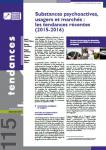 Substances psychoactives, usagers et marchés : les tendances récentes (2015-2016)