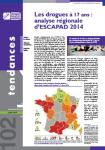 Les drogues à 17 ans : analyse régionale d'ESCAPAD 2014