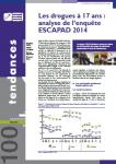 Les drogues à 17 ans : analyse de l'enquête ESCAPAD 2014