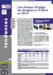 Les niveaux d'usage des drogues en France en 2014