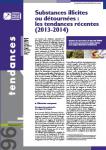 Substances illicites ou détournées : les tendances récentes (2013-2014)