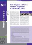 Les drogues à 17 ans : analyse régionale d'Escapad 2011