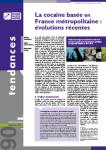 La cocaïne basée en France métropolitaine : évolutions récentes