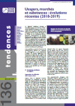 Usagers, marchés et substances : évolution récentes (2018-2019)