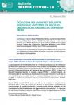 Bulletin TREND COVID 19, N° 1 - Mars-avril 2020 - Usages, offre de drogues et pratiques professionnelles au temps du COVID-19 : les observations croisées du dispositif TREND