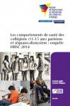 Les comportements de santé des collégiens (11-15 ans) parisiens et séquano-dionysiens