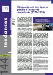 Tendances, N°144 - Avril 2021 - Cinquante ans de réponse pénale à l'usage de stupéfiants (1970-2020)