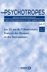 PSYCHOTROPES, Vol 27 n°3 - 2021/3 - Les 25 ans de l'Observatoire Français des Drogues et des Toxicomanies