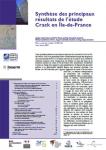 Synthèse des principaux résultats de l'étude Crack en Île-de-France