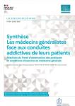 Les médecins généralistes face aux conduites addictives de leurs patients - Résultats du Panel d'observation des pratiques et conditions d'exercice en médecine générale