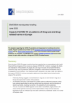 Impact of COVID-19 on patterns of drug use and drug-related harms in Europe