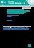 Usages, offre de drogues et pratiques professionnelles au temps du COVID-19 - application/pdf